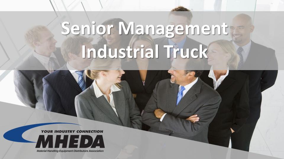 Senior Management Industrial Truck