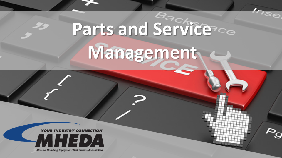 Parts And Service Management